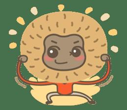 Hoonu the monkey prince  - Hello world! sticker #11280332
