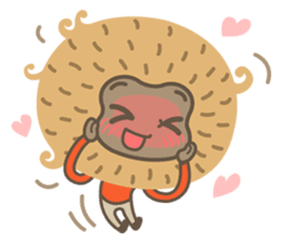 Hoonu the monkey prince  - Hello world! sticker #11280337