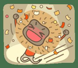 Hoonu the monkey prince  - Hello world! sticker #11280346