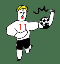 BALL BOY BOB 8 sticker #11280714