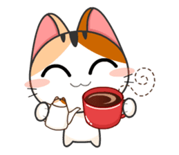 Gojill The Meow 3 sticker #11283171
