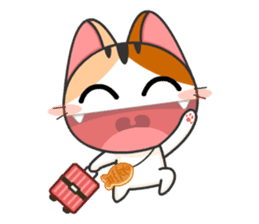 Gojill The Meow 3 sticker #11283183
