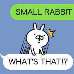 BALLOON AND SMALL RABBIT ENGLISH