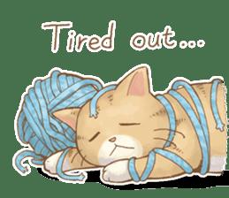 Cat's LifeStyle (English Ver.) sticker #11289681