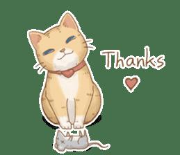 Cat's LifeStyle (English Ver.) sticker #11289685