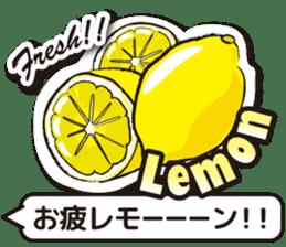 Fruits Mix sticker #11312085