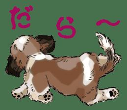 Yorkshire Terrier and Shih Tzu sticker #11313392
