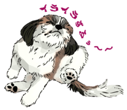 Yorkshire Terrier and Shih Tzu sticker #11313395
