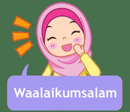 Fatima : Diary of Hijabers sticker #11320297