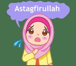 Fatima : Diary of Hijabers sticker #11320298