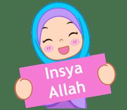 Fatima : Diary of Hijabers sticker #11320301