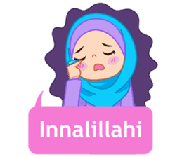 Fatima : Diary of Hijabers sticker #11320302