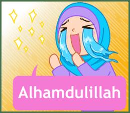 Fatima : Diary of Hijabers sticker #11320303