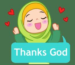 Fatima : Diary of Hijabers sticker #11320304