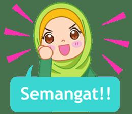 Fatima : Diary of Hijabers sticker #11320305