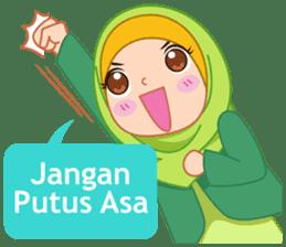 Fatima : Diary of Hijabers sticker #11320307