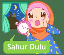 Fatima : Diary of Hijabers sticker #11320309