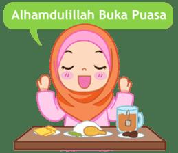Fatima : Diary of Hijabers sticker #11320310