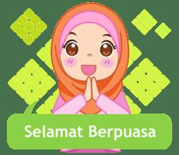Fatima : Diary of Hijabers sticker #11320311