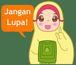 Fatima : Diary of Hijabers sticker #11320312