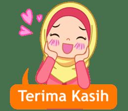 Fatima : Diary of Hijabers sticker #11320313