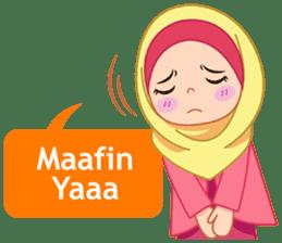 Fatima : Diary of Hijabers sticker #11320315
