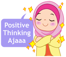 Fatima : Diary of Hijabers sticker #11320316