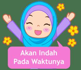 Fatima : Diary of Hijabers sticker #11320322