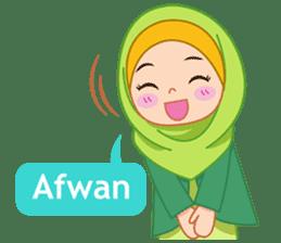 Fatima : Diary of Hijabers sticker #11320324
