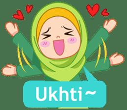 Fatima : Diary of Hijabers sticker #11320326