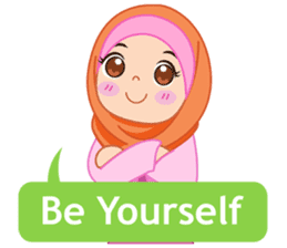 Fatima : Diary of Hijabers sticker #11320328