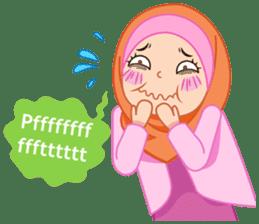 Fatima : Diary of Hijabers sticker #11320329