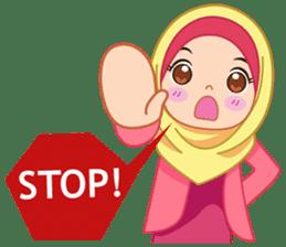 Fatima : Diary of Hijabers sticker #11320332