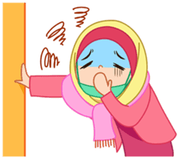 Fatima : Diary of Hijabers sticker #11320333