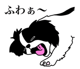 I love Japanese Chin sticker #11320463