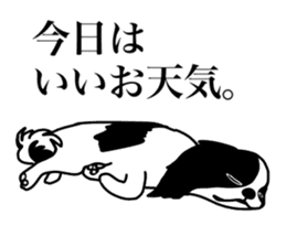 I love Japanese Chin sticker #11320464