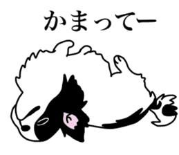 I love Japanese Chin sticker #11320471