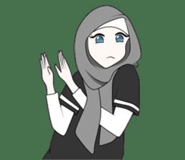 My Daily Hijab sticker #11323427