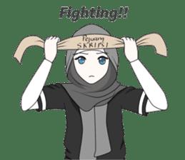 My Daily Hijab sticker #11323428