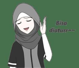 My Daily Hijab sticker #11323429
