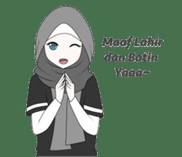 My Daily Hijab sticker #11323430
