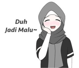 My Daily Hijab sticker #11323433