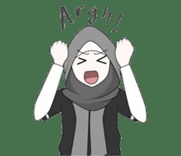 My Daily Hijab sticker #11323434
