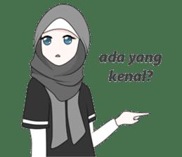 My Daily Hijab sticker #11323438