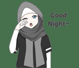 My Daily Hijab sticker #11323439