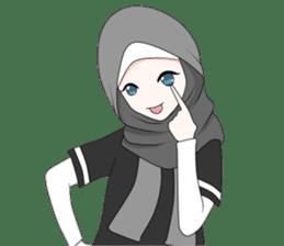 My Daily Hijab sticker #11323441