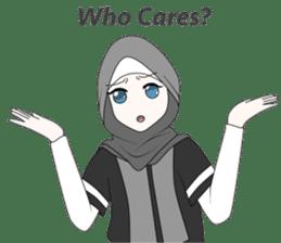 My Daily Hijab sticker #11323451