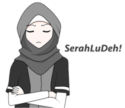My Daily Hijab sticker #11323454