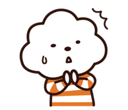 FLUFFY HOUSE (Mr. White Cloud & Friends) sticker #11327625