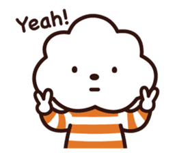 FLUFFY HOUSE (Mr. White Cloud & Friends) sticker #11327628